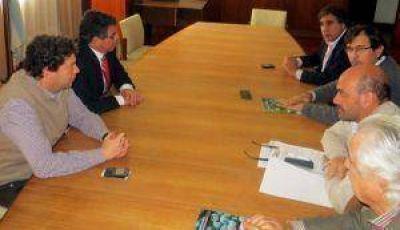 Alós se reunió con ministros de provincias vitivinícolas