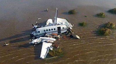 Tragedia en el río: no encuentran la caja negra de la avioneta y no saben si el dispositivo existe