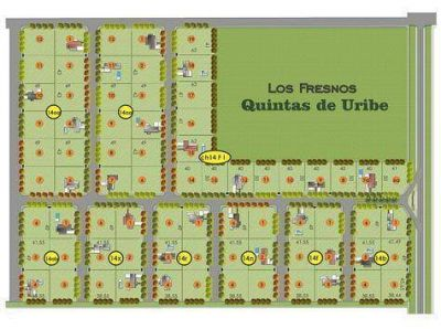 Nuevo loteo en el pueblo de Uribelarrea