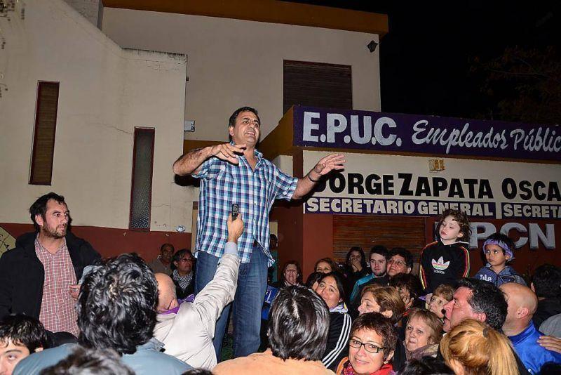 Elecciones en UPCN: Zapata se impone en Viedma