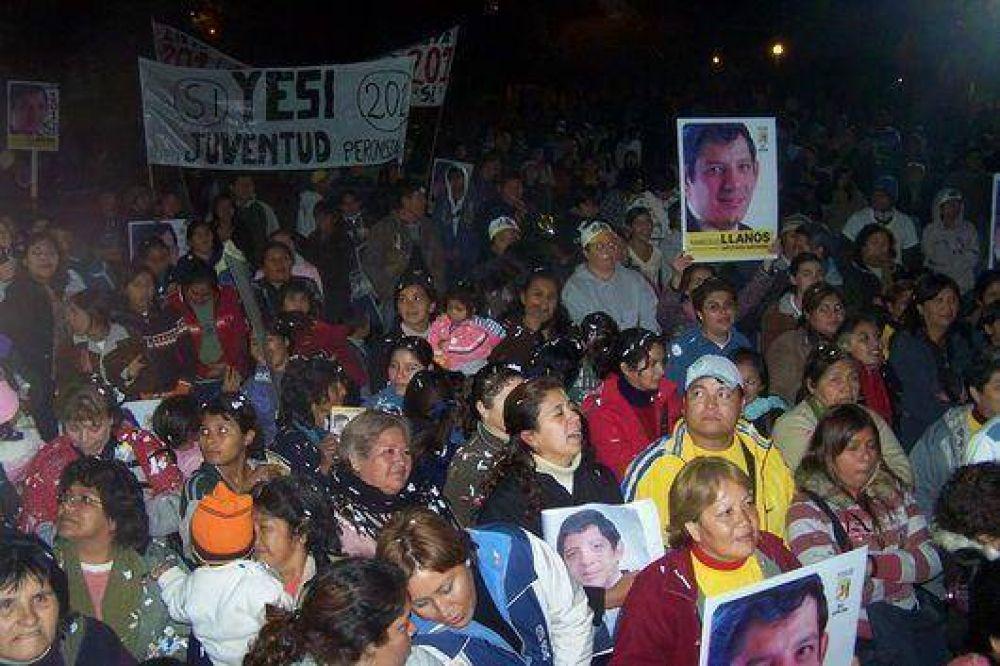 Marcelo Llanos acompañó a los candidatos del partido SI en Yuto
