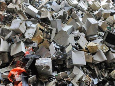 El volumen de residuos informáticos creció 10 veces en los últimos 3 años