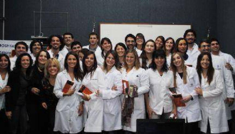 Entregaron diplomas a los egresados Residentes del Hospital Alende