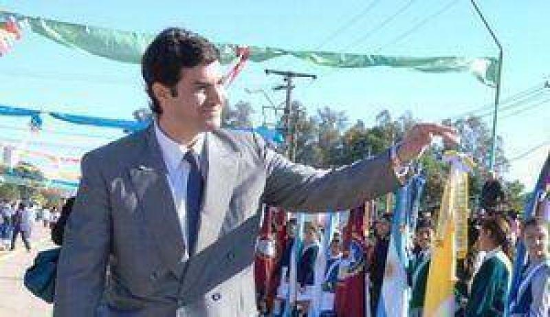 El gobernador Urtubey y el intendente Isa inauguraron la pavimentación en Tres Cerritos.