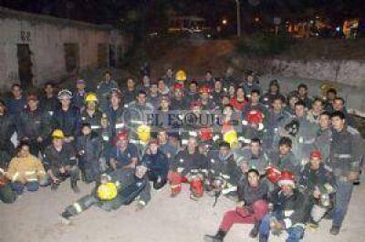 Proyectan la creación de cinco nuevos cuarteles de bomberos en la provincia