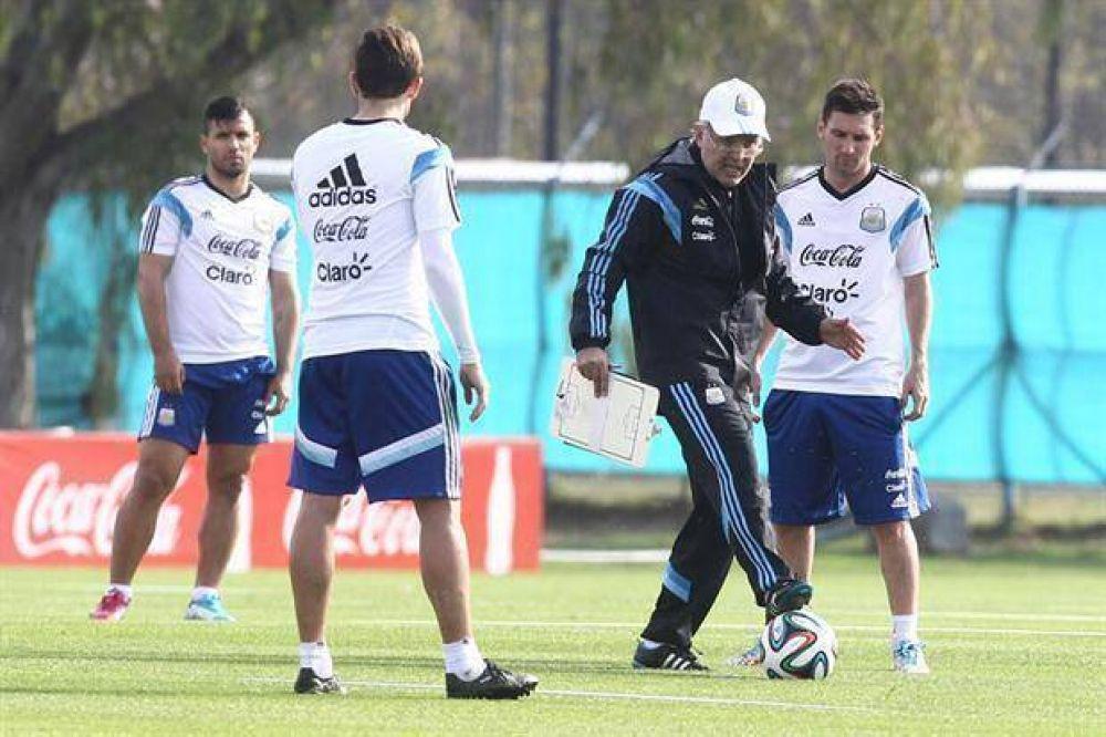 A Alejandro Sabella le llegó la hora de dar la lista: son cinco los futbolistas en observación