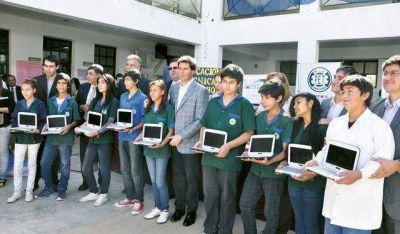 Las netbooks ya llegaron a más del 90% de los estudiantes sanjuaninos