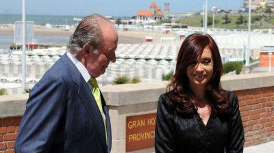 El mensaje de Cristina Kirchner por la salida del rey Juan Carlos: