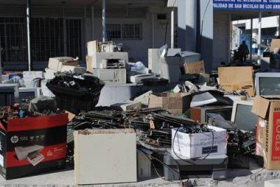 Campa�a de recolecci�n de residuos electr�nicos: en una sola jornada se juntaron m�s de 1.500 unidades