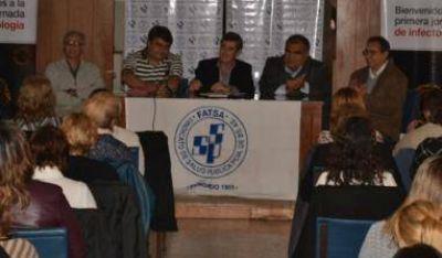 El Sindicato de Salud Pública capacitó a trabajadores de Junín