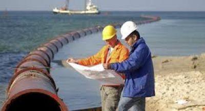El Emisario Submarino está llegando a su etapa final en la zona norte de Mar del Plata