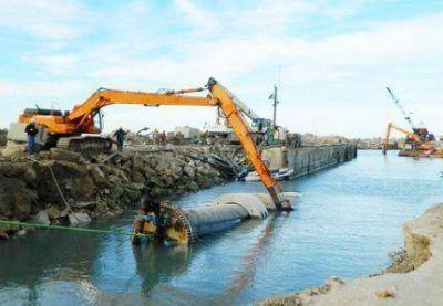 El Emisario Submarino a full: ya se completó un 99% de la obra