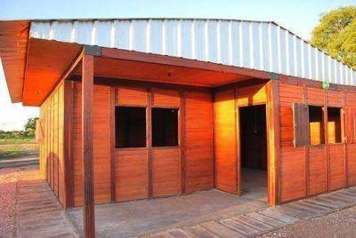 El IPDUV sorteará una cabaña de madera en la 23ª Fiesta del Sorgo que se realizará en Hermoso Campo