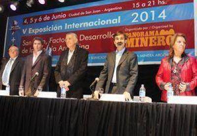 San Juan, factor de desarrollo de la miner�a: El evento minero m�s importante del pa�s