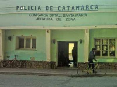 Un automóvil volcó espectacularmente en Santa María