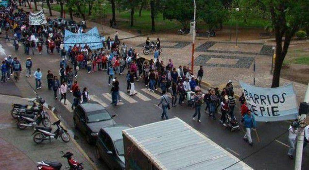 Barrios de Pie repudió la persecución a dirigentes gremiales y sociales
