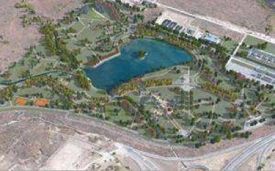 Invertirán 16 millones para crear un lago artificial en zona norte