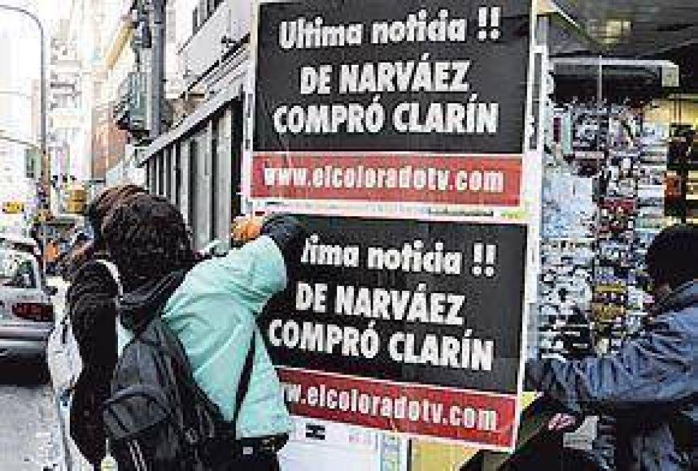 Ataque anónimo contra Clarín al cierre de campaña