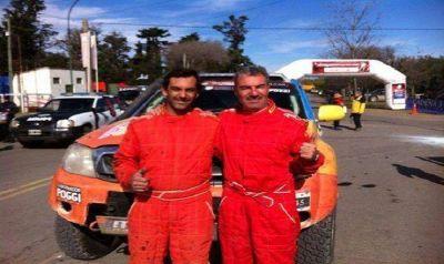 Omar Gandara finalizó en el segundo puesto en el Rally Cross Country