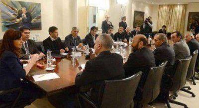 Insfrán asistió a la reunión de la OFEPHI con la presidenta