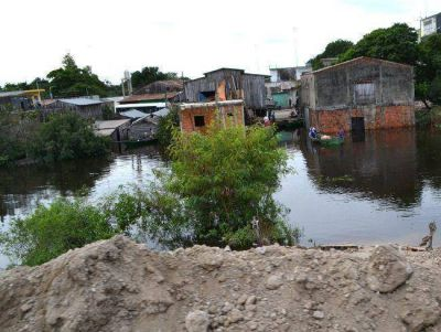 Fuerte despliegue de asistencia del estado provincial en Clorinda