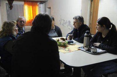 Mauricio Macri llega a San Luis