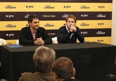 Jorge Macri encabezó charla en Virreyes junto a Alex Campbell