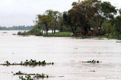 La Municipalidad de Resistencia, en alerta por la crecida de los ríos de la región