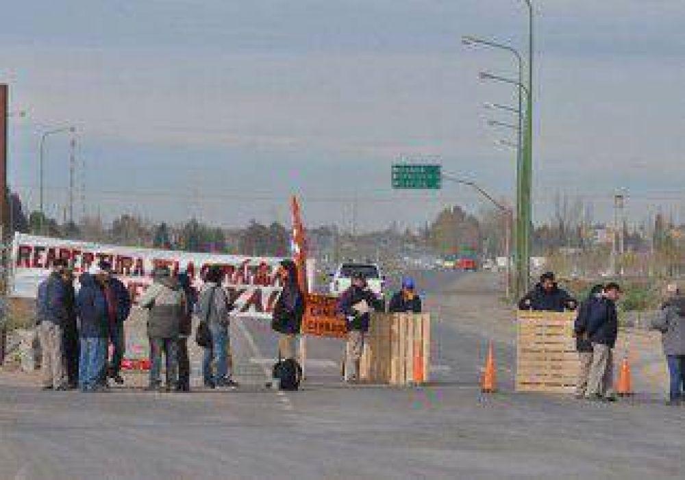Luego del caos en la Ruta 7, los ceramistas vuelven a protestar