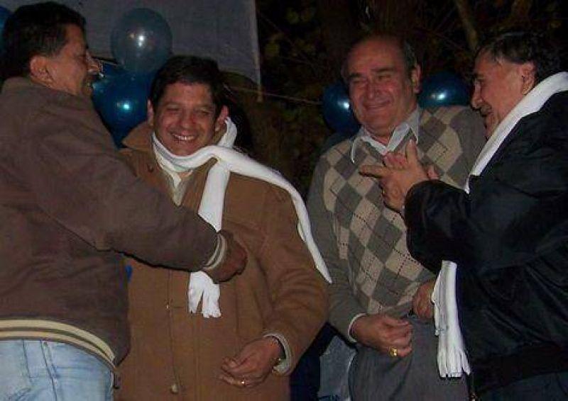 Cierre en La Mendieta: Marcelo Llanos pidi� por una ley de coparticipaci�n