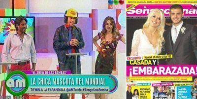 Wanda habla de los rumores de embarazo; Maxi hot y la argentina favorita del mundial