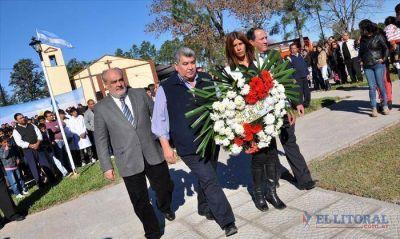 En Cruz de los Milagros, Provincia rememoró el Día de la Soberanía sobre las Malvinas