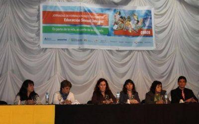 Unos 500 docentes participan del taller de Educación Sexual Integral