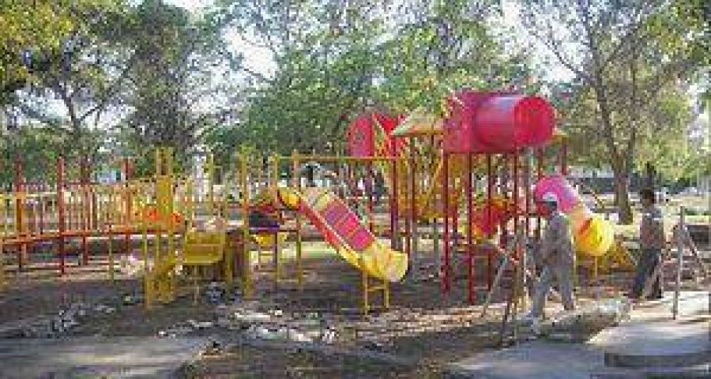 Se iniciaron las obras en las dos nuevas plazas integradoras.