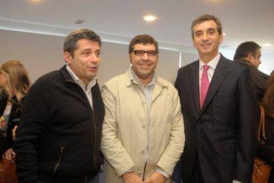 Duretti y Marini participaron del anuncio sobre seguridad vial
