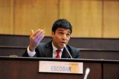 """Escobar: """"Las regalías deben ser del 36 %"""""""