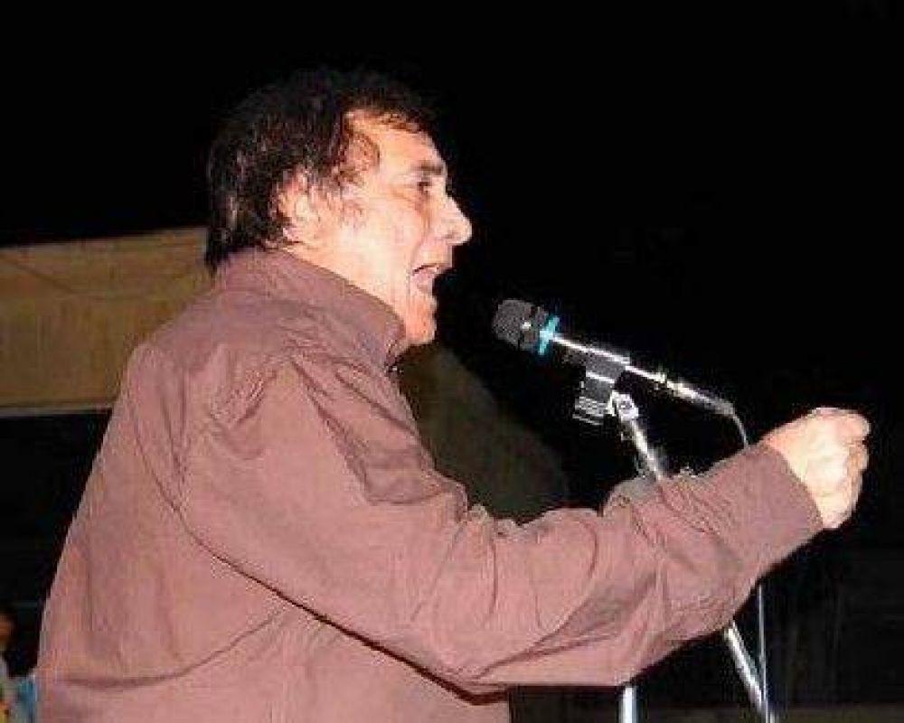Ramón Saadi cierra la campaña en la Plaza de la Estación