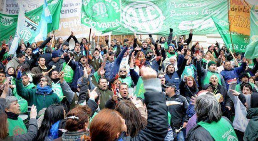 ATE vuelve al paro y moviliza a la sede de IOMA contra el vaciamiento de la obra social