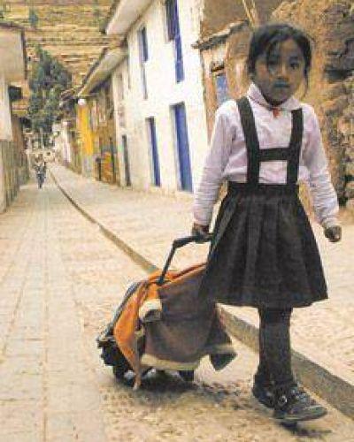 El trabajo infantil en retroceso