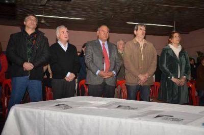 Sin la presencia de Luciani, se lanzó el Frente Amplio UNEN en Luján