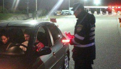 Alcoholemia Cero: siete multas en un día