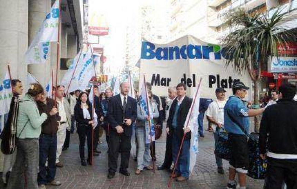 """Paro bancario: """"No nos han dejado otro camino"""""""