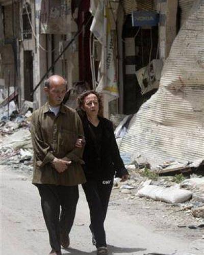 Sobrevivir en Siria: una mujer no pudo salir de su casa por 700 días