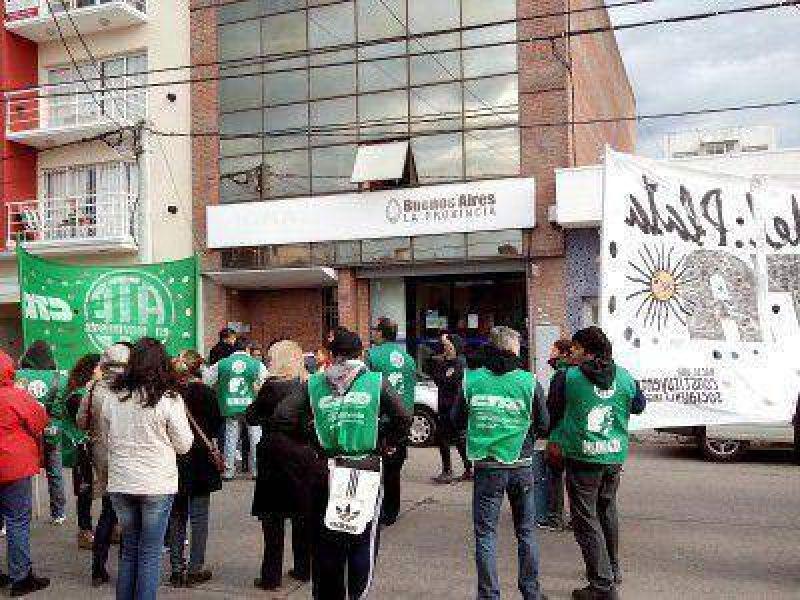 ATE movilizó en defensa del IOMA en la ciudad y toda la provincia