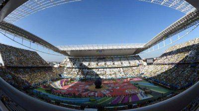 Mundial: la ceremonia inaugural costó u$s9 millones, pero no colmó las expectativas
