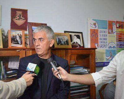El Ministro de Salud instó a vacunar a niños y niñas contra la gripe