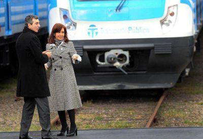 Randazzo busca capitalizar voluntades en otro acto con CFK