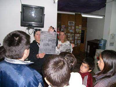 """La Escuela Primaria Nº 14 de visita, por su proyecto """"Nuestro Diario"""""""