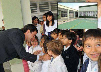 La Provincia invierte este año más de $144 millones en obras educativas para la ciudad de Salta