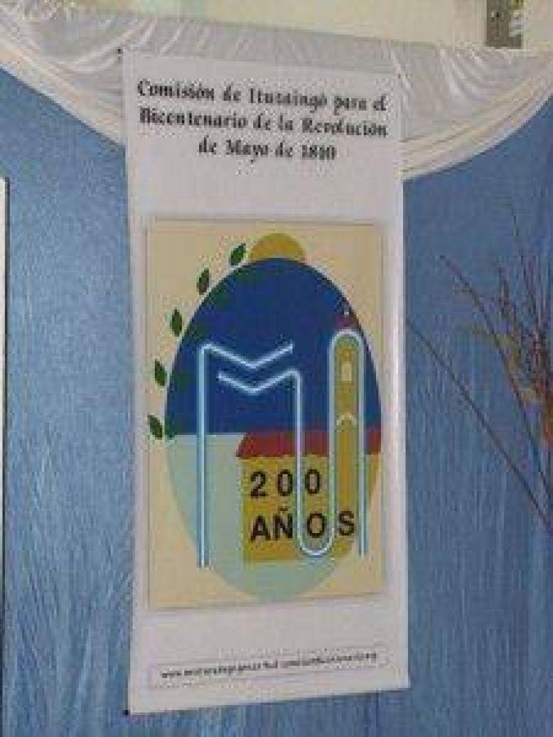 La Comisi�n de Ituzaing� para el Bicentenario de la Revoluci�n de Mayo ya tiene logo oficial que la representa
